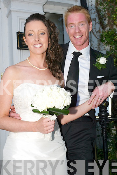 Noreen, daughter of Seamus and Noreen Dillane, Templeglantine and Brendan, son of Lockie and Sue McConnville, Brisbane, Australia, who were married in St Marys Church, Listowel on Saturday. Bridesmaid was Aileen Dillane. Best man was Matthew Murray. The reception was held at the Listowel Arms Hotel and the couple will reside in Brisbane..