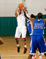 April 10, 2011 - Hampton, VA. USA;  JMychal Reese participates in the 2011 Elite Youth Basketball League at the Boo Williams Sports Complex. Photo/Andrew Shurtleff