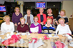 99 Probus Club Tralee enjoying a Night at the dogs in the Kingdom Greyhound Stadium on Friday. Pictured front l-r Peggy King, Bridie Stewart, Cecilia Guinan, Eileen Quinn, Kathleen Smith, Back L to R Joan Carney, Mary Duggan, Kay Stack, Margaret Fitzgerald, Rose Hussey,