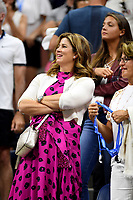 FLUSHING NY- SEPTEMBER 04: ***NO NY DAILIES*** MirkaFederer at Arthur Ashe Stadium during the US Open at the USTA Billie Jean King National Tennis Center on September 4, 2017 in Flushing Queens. Credit: mpi04/MediaPunch