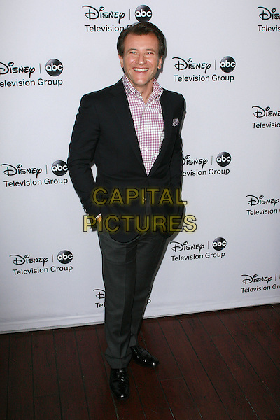 Robert Herjavec.Disney ABC Television Group Hosts ?TCA Winter Press Tour? held at Langham Huntington Hotel, Pasadena, California, USA, 11th January 2013..full length red checked gingham shirt hands in pockets  .CAP/ADM/AM.©Amelie Mucci/AdMedia/Capital Pictures.