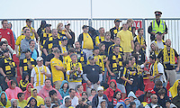 The Columbus Crew Fans show their support at  BMO Field on Saturday September 13, 2008. .The game ended in a 1-1 draw.