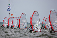 Medemblik - the Netherlands, May 26th 2010. Delta Lloyd Regatta in Medemblik (26/30 May 2010). Day 1.