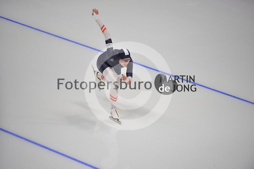 OLYMPIC GAMES: PYEONGCHANG: 14-02-2018, Gangneung Oval, Long Track, 1000m Ladies, Vanessa Herzog (AUT), ©photo Martin de Jong