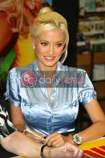 Holly Madison<br />at an in-store signing for The Girls Next Door and Hugh Hefner. Tower Records, West Hollywood, CA. 08-03-06<br />Jason Kirk/DailyCeleb.com 818-249-4998