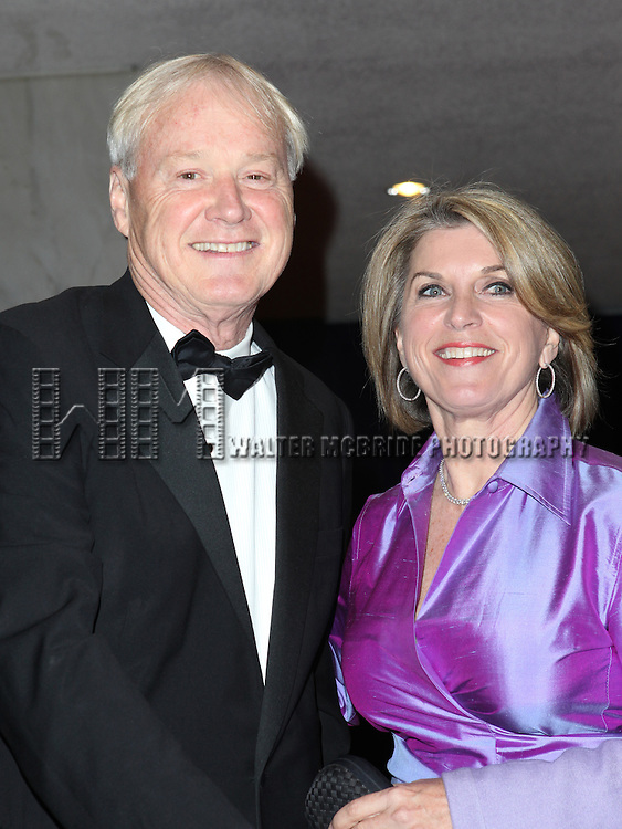 MSNBC's Chris Matthews and his wife, Marriott VP Kathleen Matthews<br /> attending the 98th Annual White House Correspondents' Association Dinner at the Washington Hilton on April 28, 2012 in Washington, DC.