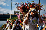 "People attend the traditional ""Silleteros"" parade in Medellin"