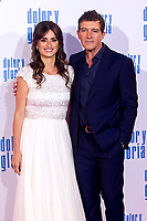 Penelope Cruz and Antonio Banderas attend the movie premiere of 'Dolor y gloria' in Capitol Cinema, Madrid 13th March 2019. (ALTERPHOTOS/Alconada)<br /> Foto Alterphotos / Insidefoto<br /> ITALY ONLY