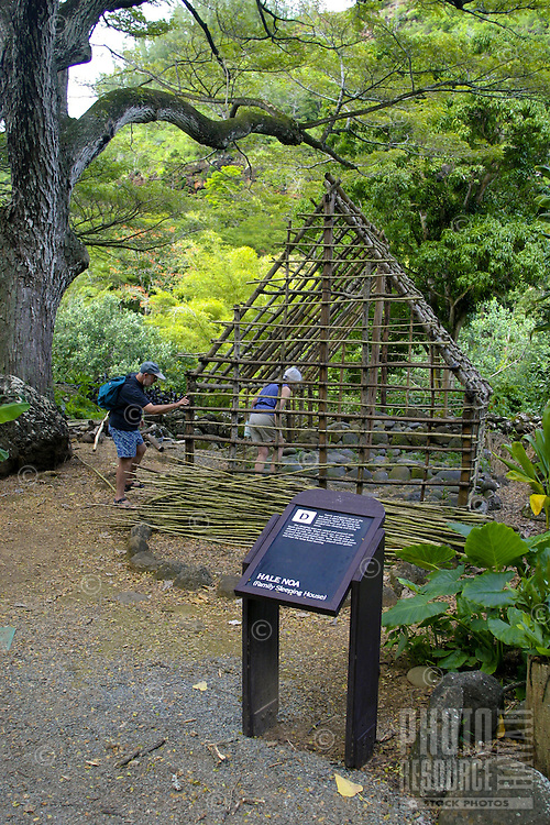 Waimea Valley Audubon Center offers its visitors a look back on ancient Hawaiian culture as well as gardens, waterfalls, dining and shopping. Located along the North Shore of Oahu.
