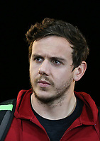 Goalkeeper Danny Ward arrives ahead of the Premier League match between Swansea City and Liverpool at the Liberty Stadium, Swansea, Wales on 22 January 2018. Photo by Mark Hawkins / PRiME Media Images.