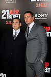LOS ANGELES, CA - MAR 13: Jonah Hill, Channing Tatum at the premiere of Columbia Pictures '21 Jump Street' held at Grauman's Chinese Theater on March 13, 2012 in Los Angeles, California