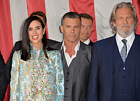 Jennifer Connelly, Josh Brolin, Jeff Bridges at the premiere for &quot;Only The Brave&quot; at the Regency Village Theatre, Westwood. Los Angeles, USA 08 October  2017<br /> Picture: Paul Smith/Featureflash/SilverHub 0208 004 5359 sales@silverhubmedia.com