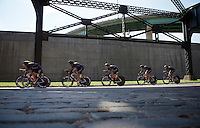 Optum-Kelly Benefit Strategies (USA) on course<br /> <br /> Elite Men&rsquo;s Team Time Trial<br /> UCI Road World Championships Richmond 2015 / USA
