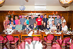+++Reproduction Free+++<br /> Celebrating her 50th Birthday was Kay O'Mahony from Abbeyfeale, pictured here center with family and friends last Friday night in Leen's Hotel, Abbeyfeale.