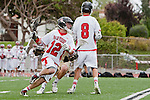 Palos Verdes, CA 05/07/11 - Zach Henkhaus (Palos Verdes #12) in action during the CIF Southern Section North Division Semifinal game between Oak Park and Palos Verdes.