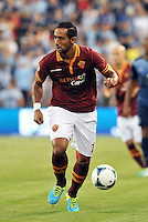 Sporting Park, Kansas City, Kansas, July 31 2013:<br /> Mehdi Benatia (17) defender AS Roma in action.<br /> MLS All-Stars were defeated 3-1 by AS Roma at Sporting Park, Kansas City, KS in the 2013 AT & T All-Star game.