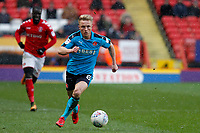 Kyle Dempsey of Fleetwood Town during the Sky Bet League 1 match between Charlton Athletic and Fleetwood Town at The Valley, London, England on 17 March 2018. Photo by Carlton Myrie.