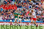 Tom O'Sullivan, Kerry in action against  during the All Ireland Senior Football Semi Final between Kerry and Tyrone at Croke Park, Dublin on Sunday.