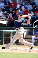 Chad Huffman - San Diego Padres - 2009 spring training.Photo by:  Bill Mitchell/Four Seam Images