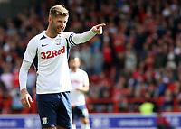 Preston North End's Paul Gallagher in action<br /> <br /> Photographer David Shipman/CameraSport<br /> <br /> The EFL Sky Bet Championship - Nottingham Forest v Preston North End - Saturday 31st August 2019 - The City Ground - Nottingham<br /> <br /> World Copyright © 2019 CameraSport. All rights reserved. 43 Linden Ave. Countesthorpe. Leicester. England. LE8 5PG - Tel: +44 (0) 116 277 4147 - admin@camerasport.com - www.camerasport.com