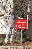 Remy Laugier, manager and winemaker Domaine de Triennes Nans-les-Pins Var Cote d'Azur France