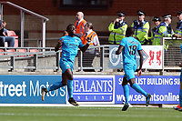 Barnets Wes Fonguck scores & celebrates during Leyton Orient vs Barnet, Vanarama National League Football at The Breyer Group Stadium on 15th September 2018
