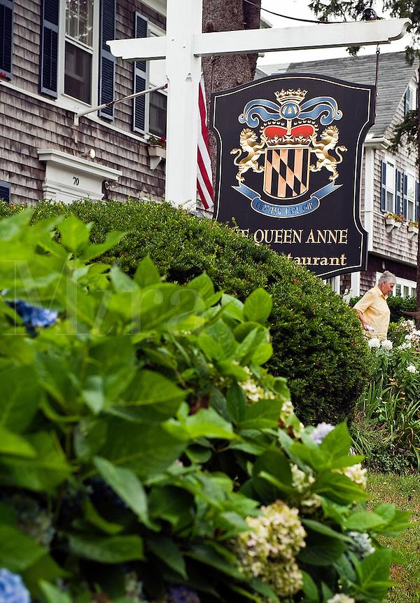 The Queen Anne, Inn and Restaurant, Chatham, Cape Cod, MA, Massachusettes, USA
