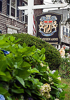 The Queen Anne, Inn and Restaurant, Chatham, Cape Cod, MA, Massachusettes, USA
