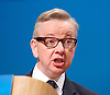 Conservative Party Conference, ICC, Birmingham, Great Britain <br /> 1st October 2014<br /> <br /> Rt Hon Michael Gove MP<br /> Chief Whip <br /> <br /> <br /> Photograph by Elliott Franks <br /> Image licensed to Elliott Franks Photography Services