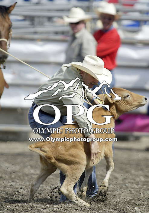 29 Aug 2009:   Clif Cooper scored a time of 7.8 in the Tie Down Roping competition at the Kitsap County Wrangler Million Dollar PRCA Pro Rodeo Tour in Bremerton, Washington.