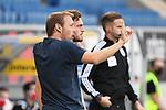 20.06.2020, xmeix, 1.Fussball Bundesliga, TSG 1899 Hoffenheim - 1.FC UNion Berlin, empor. v.l.n.r, <br /> Hoffenheims Co-Trainer Matthias Kaltenbach mit Jakob Bruun Larsen (TSG 1899 Hoffenheim)<br /> <br /> <br /> <br /> Foto: Sascha Meiser/APF/Pool/PIX-Sportfotos<br /> <br /> Nur für journalistische Zwecke!<br /> Only for editorial use!<br /> Nutzungsbedingungen: http://poolbilder.de/nutzungsvereinbarung.pdf