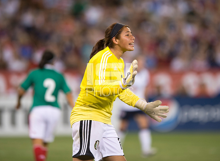 Cecilia Santiago. The USWNT defeated Mexico, 7-0, during an international friendly at RFK Stadium in Washington, DC.  The USWNT defeated Mexico, 7-0.