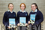 l-r  Abbie Blennerhassett, Laura Daly and Siobhan Brosnan at Annual student awards evening of  Presentation Secondary School Castleisland in St John's Hall on Thursday