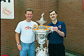 Blackpool FC Open Day August 1994,Lancashire Cup trophy......© Phill Heywood.tel 07806 775649