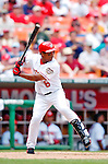 30 June 2005: Jose Guillen, outfielder for the Washington Nationals, at bat during a game against the Pittsburgh Pirates. The Nationals defeated the Pirates 7-5 to sweep the 3-game series at RFK Stadium in Washington, DC.  Mandatory Photo Credit: Ed Wolfstein