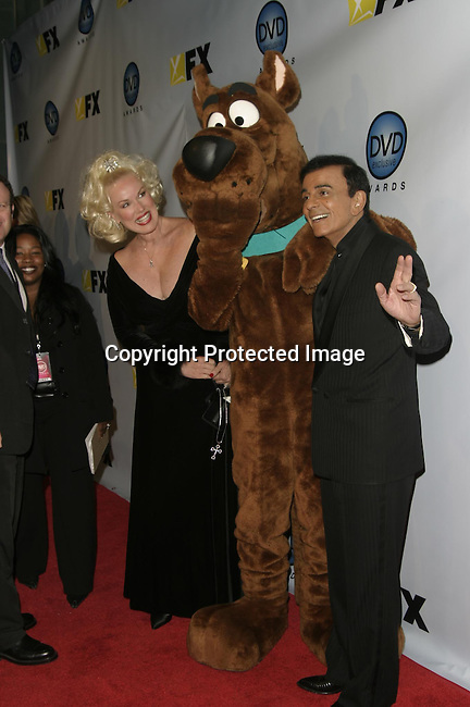 Jean Kasem, Scooby Doo &amp; Casey Kasem<br />The 3rd Annual DVD Exclusive Awards<br />The Wiltern Theater LG<br />Los Angeles, CA, USA<br />December 2, 2003 <br />Photo By Celebrityvibe.com /Photovibe.com