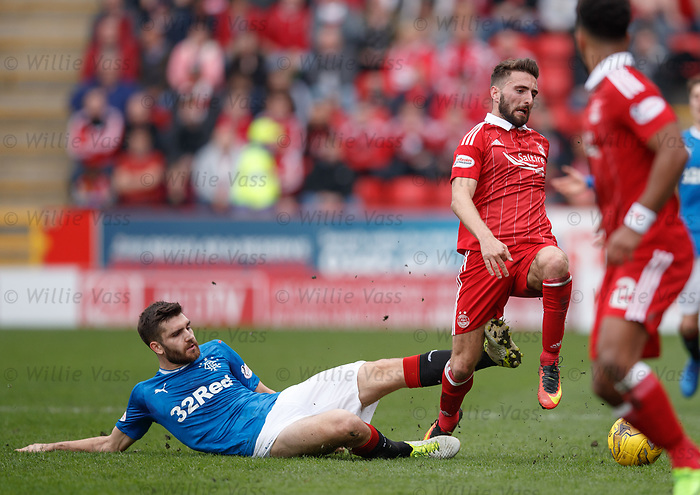 Jon Toral and Graeme Shinnie