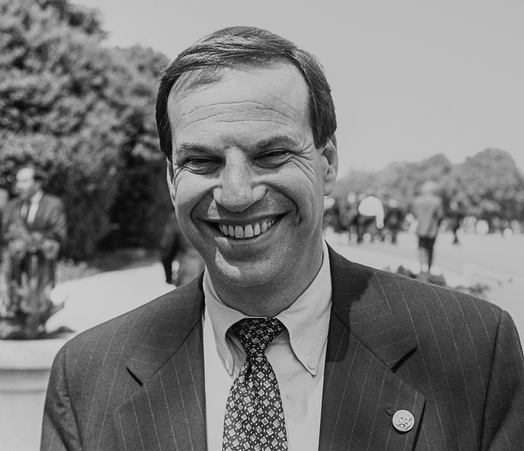 Rep. Bob Filner, D-Calif., on May 3, 1993. (Photo by Chris Martin/CQ Roll Call via Getty Images)