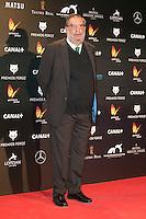 Enrique Gonzalez Macho attends the Feroz Cinema Awards 2015 at Las Ventas, Madrid,  Spain. January 25, 2015.(ALTERPHOTOS/)Carlos Dafonte) /NortePhoto<br /> <br /> nortePhoto.com