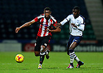 Sam Graham of Sheffield United U18's in action during the FA Youth Cup 3rd Round match at Deepdale Stadium, Preston. Picture date: November 30th, 2016. Pic Matt McNulty/Sportimage