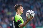 10.02.2019, Weser Stadion, Bremen, GER, 1.FBL, Werder Bremen vs FC Augsburg, <br /> <br /> DFL REGULATIONS PROHIBIT ANY USE OF PHOTOGRAPHS AS IMAGE SEQUENCES AND/OR QUASI-VIDEO.<br /> <br />  im Bild<br /> <br /> Max Kruse (Werder Bremen #10) <br /> einwurf<br /> <br /> Foto &copy; nordphoto / Kokenge