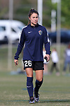 CARY, NC - APRIL 08: Courage's Samantha Witteman. The NWSL's North Carolina Courage played a preseason game against the University of North Carolina Tar Heels on April 8, 2017, at WakeMed Soccer Park Field 3 in Cary, NC. The Courage won the match 1-0.