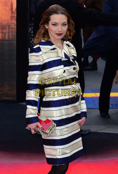 LONDON, ENGLAND - MAY 11:  Perdita Weeks attends Godzilla UK film premiere, remake of action adventure, featuring the iconic film monster that terrorises Japan, at Odeon Leicester Square, 24-26 Leicester Square, on May 11, 2014, in London, England.  <br /> CAP/JOR<br /> &copy;Nils Jorgensen/Capital Pictures