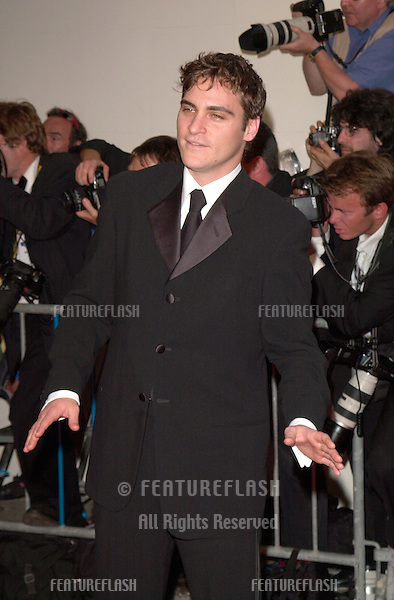 18MAY2000:  Actor JOAQUIN PHOENIX at the premiere of his new movie Love's Labour's Lost at the Cannes Film Festival to benefit AmFAR.            .© Paul Smith / Featureflash