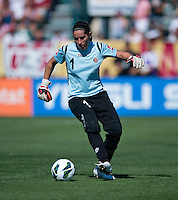 Erica Miranda.  The USWNT defeated Costa Rica, 8-0, during a friendly match at Sahlen's Stadium in Rochester, NY.