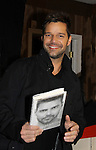 "11-04-10 Ricky Martin signs his book ""Me"" at Bookends"