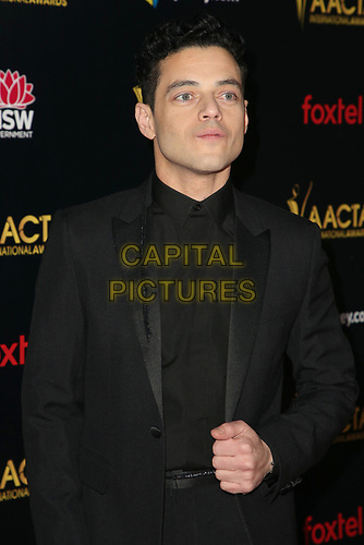 04 January 2019 - West Hollywood California - Rami Malek. 8th AACTA International Awards held at Skybar at Mondrian Los Angeles.         <br /> CAP/ADM/FS<br /> ©FS/ADM/Capital Pictures