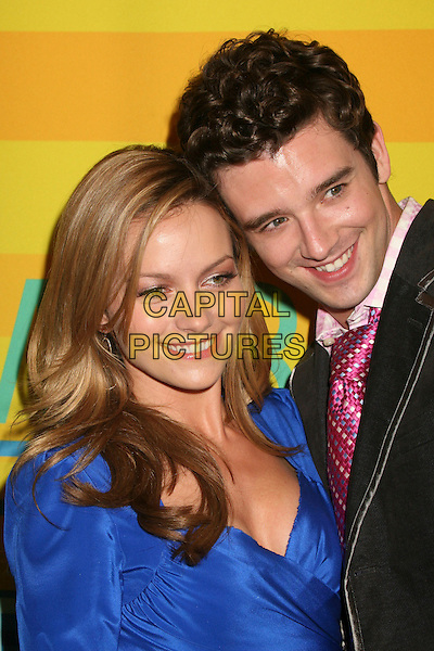 "BECKI NEWTON & MICHAEL URIE .MT & R's 24th Annual William S. Paley Television Festival, ""Ugly Betty"" at the Directors Guild, West Hollywood, California, USA..March 12th, 2007.headshot portrait black blue.CAP/ADM/BP.©Byron Purvis/AdMedia/Capital Pictures"