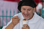 Eldorado chef Ivano Centemeri judges sauce during the Italian Festival held in downtown Reno outside of the Eldorado Hotel and Casino on Sunday afternoon, October 13, 2013.