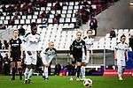 16.03.2019, Stadion Essen, Essen, GER, AFBL, SGS Essen vs TSG 1899 Hoffenheim, DFL REGULATIONS PROHIBIT ANY USE OF PHOTOGRAPHS AS IMAGE SEQUENCES AND/OR QUASI-VIDEO<br /> <br /> im Bild | picture shows:<br /> Nicole Anyomi (SGS Essen #17) tritt zum Elfmeter an, <br /> <br /> Foto &copy; nordphoto / Rauch